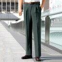 スラックス 【3本組】裾上げ済杢調変化織スラックス ベルーナ 40代 50代 60代 紳士 ファッション メンズ メンズライフ ファッション スラックス 【在庫残りわずか】