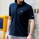 チャンピオン ポロシャツ 5L 4L 3L<Champion>カノコ素材ポロシャツ(3L〜5L) ベルーナ 40代 50代 60代 紳士 ファッション 大きいサイズ ポロシャツ メンズ 男性