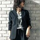 ジャケット M LL L 3L 洗えるノーカラージャケット ベルーナ ラナン Ranan 秋冬 秋服 30代 40代 ファッション レディース