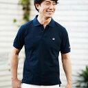 ポロシャツ 3L 4L 5L<Champion>カノコ素材ポロシャツ(3L〜5L) ベルーナ 40代 50代 60代 ファッション 大きいサイズ ポロシャツ メン..