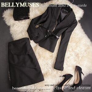 ブラックスカートスーツ ビジネス フォーマルスーツ レディースス