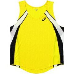 アシックス陸上競技用M'SランニングシャツXT1036[カラー:イエロー][サイズ:S] XT103