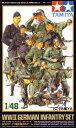 <10%OFF> 1/48 ミリタリーミニチュアシリーズ No.12 WWIIドイツ国防軍歩兵セット 【タミヤ: 玩具 プラモデル】