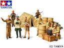 <10%OFF> 1/48 ミリタリーミニチュアシリーズ No.61 WWII ドイツ アフリカ軍団歩兵セット 【タミヤ: 玩具 プラモデル】