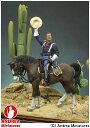 西部開拓時代 54mm S4-F10 アパッチ砦(騎馬) 【アンドレア・ミニチュアズ: 玩具:模型:人物】【西部開拓時代 54mm】