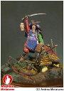 【5%offクーポン(要獲得) 12/13 20:00〜12/16 9:59】 中世の騎士 54mm セット SM-S02 首級(しるし) (1300年) 【アンドレア・ミニチュアズ: 玩具 模型 人物】【ANDREA MINIATURES】