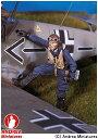 【アンドレア・ミニチュアズ】 1/48 スカイウォーリアーズ 組立キット SW-03 ドイツ空軍 戦闘機パイロット 【玩具:模型:人物】【1/48 スカイウォーリアーズ 組立キット】【ANDREA MINIATURES】