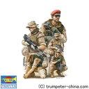 1/35 フィギュア ドイツ連邦軍 ISAF国際治安支援部隊 【トランペッター: 玩具:プラモデル: