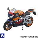 1/12 完成品バイク Honda CBR 1000RR (レプソルカラー) 【アオシマ文化教材社: 玩具 ミニカー 日本】【AOSHIMA】【02P20Nov15】