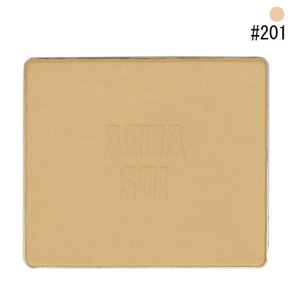 【アナスイ】 マットパウダーファンデーション レフィル #201 10g 【化粧品・コスメ:メイクアップ:ベースメイク:ファンデーション】【ANNA SUI MATTE POWDER FOUNDATION 201】