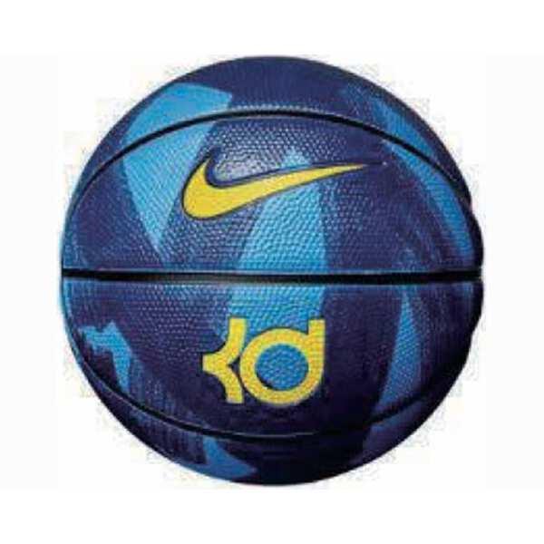 ナイキKDプレイグラウンド8Pバスケットボール7号球(ケビン・デュラントシグネチャー)[カラー:フォ
