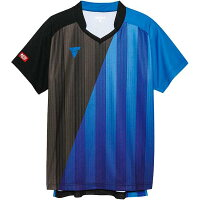 【ビクタス】 V‐GS053 ユニセックス ゲームシャツ [サイズ:2XS] [カラー:ブルー] #031466-0120 【スポーツ・アウトドア:卓球:ウェア:メンズウェア:シャツ】【VICTAS】