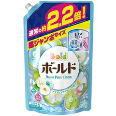 【P&G】 <strong>ボールド</strong> <strong>アクアピュア</strong>クリーンの香り 詰替用 超ジャンボサイズ 1.58kg 【日用品・生活雑貨___洗剤各種___洗濯用洗剤___液体洗剤】【<strong>ボールド</strong>】【P&G】