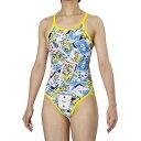 【アリーナ】 TOUGHSUIT スーパーフライバック [サイズ:L] [カラー:ネイビー・ブルー×Kイエロー×ブラック] #FSA9609W-NVBU 【スポーツ・アウトドア:水泳:競技水着:レディース競技水着】【ARENA】