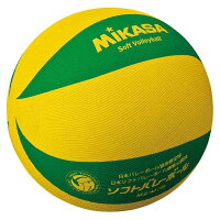 【ミカサ】 カラーソフトバレーボール [カラー:イエロー×グリーン] #MS-M78-YG 【スポーツ・アウトドア:バレーボール:ボール:ソフトバレーボール】【MIKASA】の画像