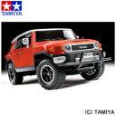 【500円OFFクーポン 8/2 9:59まで】 【タミヤ】 1/10 電動RCカ— No.588 トヨタ FJクルーザ— (CC-01シャーシ) 【玩具:ラジコン:オフロードカー:組み立てキット】【1/10RC ツーリングカー】【TAMIYA 1/10 Toyota FJ CRUISER (CC-01 CHASSIS)】