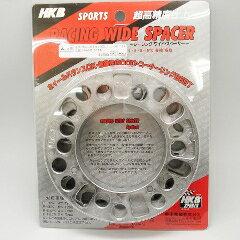 東栄産業(HKBSPORTS)シルバーホイールスペーサ—5mm4H/5H4枚入りカー用品:ホイール・