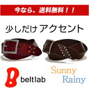 [free shipping] is accent, studs belt which five colors of 2 designs can choose in men's Lady's, real leather belt MEN'S Belt LADY'S Belt of a basic buckle with 820 kinds [50%OFF 2,280 yen real leather belt] of studs which can choose store specializing in belts ♪ slightly