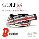 【GOLFish -ゴルフィッシュ-】フレンチカラーのボーダーが爽やかな、コーディネートが楽しくなるきれい色。ゴルフウェアにアクセント、ゴルフをスタイリッシュに...