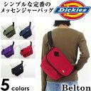 ディッキーズ Dickies 鞄 メッセンジャーバッグ ポリエステル ショルダーバッグ ミニメッセンジャー カジュアル 無地 シンプル bag men's ベルトン Belton