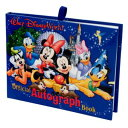 【1-2日以内に発送!】 ディズニー(Disney)US公式商品 ウォルトディズニーワールド オートグラフ サイン帳 メモ帳 [並行輸入品] Official Walt Disney World Resort Autograph Book