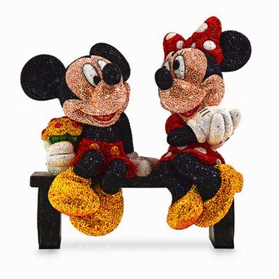 【取寄せ】ディズニー Disney US公式商品 ミッキーマウス ミニーマウス フィギュア 置物 人形 アリバスブラザーズ 限定版 [並行輸入品] Mickey and Minnie Mouse Limited Edition Figurine by Arribas Brothers
