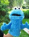 【1-2日以内に発送!】ディズニー(Disney) セサミストリート クッキーモンスター 操り人形 【大人の手用】 人形 手人形 指人形 ハンドパペット ぬいぐるみ パペット 片手 [並行輸入品] Sesame Street Cookie Monster
