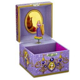 【1-2日以内に発送】ディズニー(Disney)US公式商品 塔の上のラプンツェル プリンセス ジュエリーボックス 入れ物 箱 ケース おもちゃ アクセサリー ジュエリー ミュージカル オルゴール [並行輸入品] Rapunzel Musical Jewelry Box