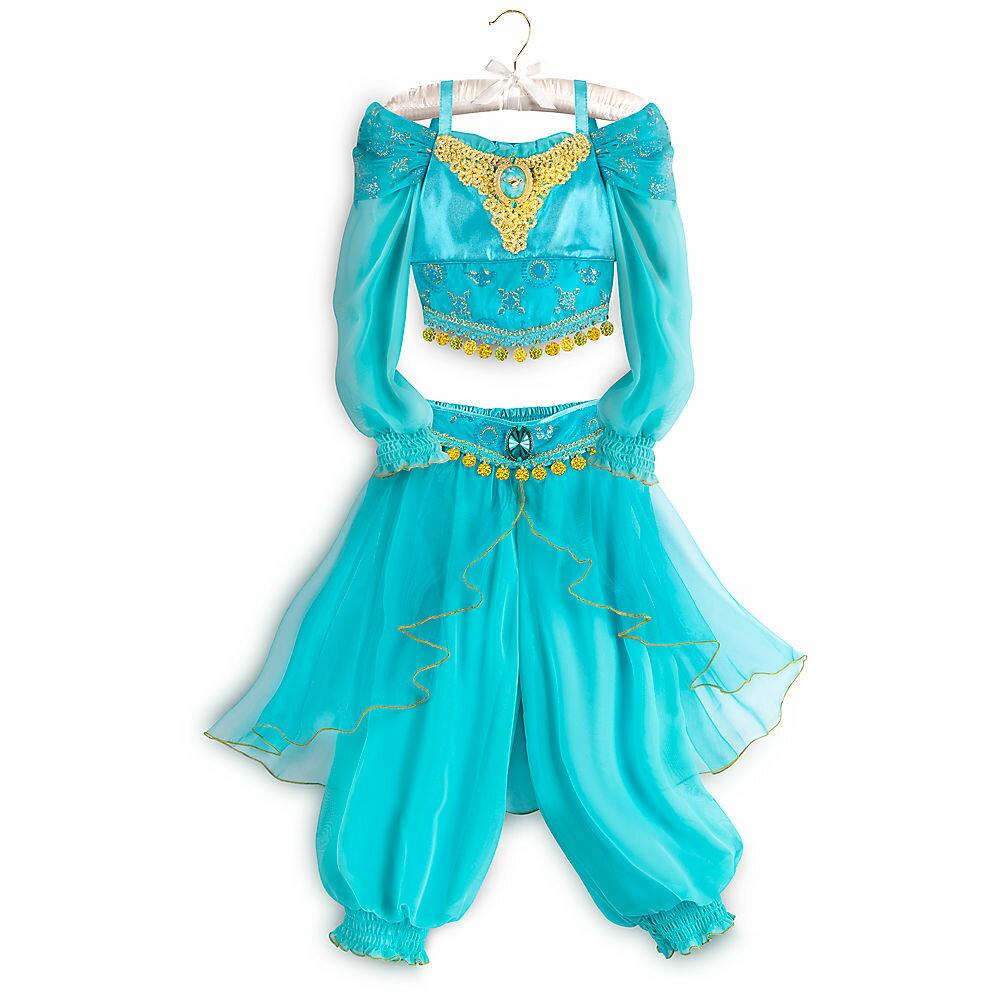 【1-2日以内に発送】ディズニー Disney US公式商品 アラジン ジャスミン プリンセス コスチューム 衣装 ドレス 服 コスプレ ハロウィン ハロウィーン 服 コスプレ 子供用 キッズ 女の子[並行輸入品] Jasmine Costume for Kids