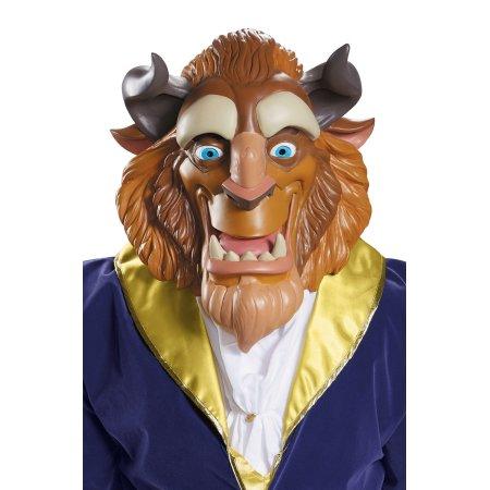 【取寄せ】ディズニー Disney マスク コスチューム 衣装 コスプレ ドレス ハロウィーン ハロウィン 【色:アソート(写真と異なる場合アリ)】 大人用 メンズ レディース [並行輸入品] Beast Deluxe Adult Mask クリスマス 誕生日 プレゼント ギフト