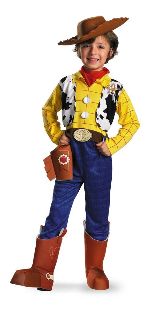 【1-2日以内に発送】ディズニー Disney トイストーリー ウッディ コスチューム 衣装 帽子付き コスプレ つなぎ カバーオール ハロウィーン ハロウィン 子供 子供服 ベビー服 男の子 子供用 キッズ [並行輸入品] Toy Story Woody Deluxe Child Halloween Costume クリス
