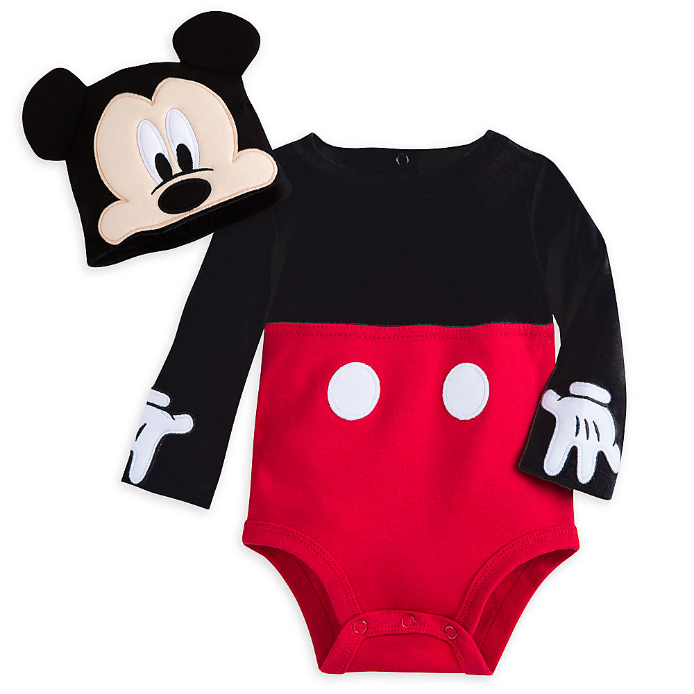 【1-2日以内に発送】ディズニー Disney US公式商品 ミッキーマウス コスチューム 衣装 ドレス 服 コスプレ ハロウィン ハロウィーン ロンパース ボディスーツ ボディースーツ 服 コスプレ セット ベビー 赤ちゃん 幼児用 女の子 男の子 [並行輸入品] Mickey Mouse