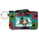 【取寄せ】 ディズニー(Disney)US公式商品 ミッキーマウス パスカードケース ベラブラッドリー ヴェラブラドリー ケース [並行輸入品] Mickey's Magical Blooms Zip ID Case by Vera Bradley グッズ ストア プレゼント ギフト 誕生日 人気