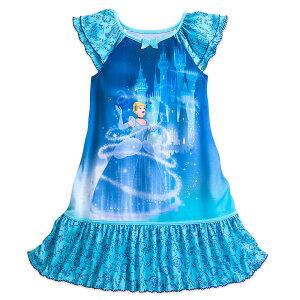 【1-2日以内に発送】ディズニー Disney US公式商品 シンデレラ プリンセス パジャマ 寝巻き 部屋着 服 シャツ Tシャツ トップス 女の子用 子供用 女の子 ガールズ [並行輸入品] Cinderella Nightshirt for Girls グッズ ストア プレゼント ギフト 誕生日 人気 クリ