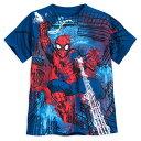 【5月7-9日配達】 ディズニー Disney US公式商品 スパイダーマン Tシャツ トップス 服 シャツ 男の子用 子供 男の子 ボーイズ [並行輸入品] Spider-Man T-Shirt for Boys グッズ ストア プレゼント ギフト 誕生日 人気 クリスマス 誕生日 プレゼント ギフト