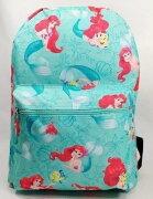 【あす楽】ディズニー Disney リトルマーメイド アリエル Ariel プリンセス リュックサック リュック バックパック バッグ 鞄 かばん 子供用 キッズ 子供 女の子 [並行輸入品] クリスマス 誕生日 プレゼント ギフト
