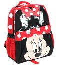 【1-2日以内に発送】ディズニー Disney ミニー ミニーマウス リボン リュックサック リュック 旅行 バッグ バックパック 鞄 かばん 女..