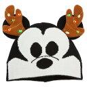【5月7-9日配達】ディズニー Disney US公式商品 ミッキーマウス ニット帽 大人用 帽子 ハット キャップ 服 光る ライトアップ 大人 [並行輸入品] Mickey Mouse Holiday Light-Up Beanie - Adults グッズ ストア プレゼント ギフト 誕生日 人気 クリスマス 誕生