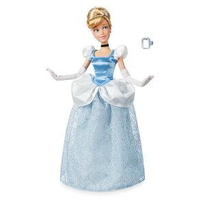 【1-2日以内に発送】 ディズニー Disney US公式商品 シンデレラ プリンセス クラシックドール 人形 指輪付き 指輪 リング おもちゃ フィギュア [並行輸入品] Cinderella Classic Doll with Ring - 11 1/2'' グッズ ストア プレゼント ギフト 誕生日 人気 クリスマス 誕