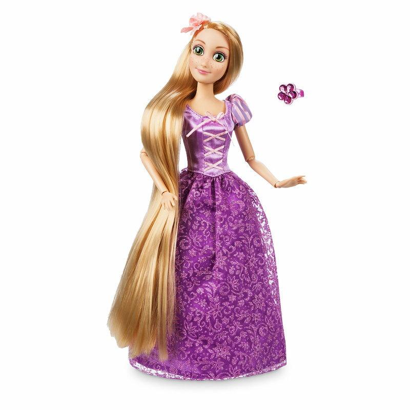 【1-2日以内に発送】 ディズニー Disney US公式商品 塔の上 ラプンツェル プリンセス クラシックドール 人形 指輪付き 指輪 リング おもちゃ フィギュア [並行輸入品] Rapunzel Classic Doll with Ring - Tangled 11 1/2'' グッズ ストア プレゼント ギフト 誕生日 人気
