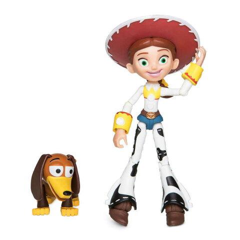 【1-2日以内に発送】 ディズニー Disney US公式商品 トイストーリー ジェシー ピクサー Pixar フィギュア 置物 人形 アクションフィギュア 模型 おもちゃ トイボックス [並行輸入品] Jessie Action Figure - Toy Story 4 PIXAR Toybox グッズ ストア プレゼント ギフト