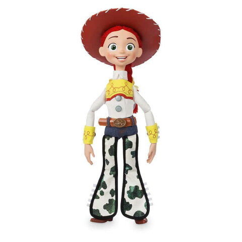 【1-2日以内に発送】 ディズニー Disney US公式商品 トイストーリー ジェシー フィギュア 置物 人形 しゃべる 声が出る英語(日本語無し) アクションフィギュア 模型 おもちゃ 37.5cm [並行輸入品] Jessie Interactive Talking Action Figure - Toy Story 15'' グッズ