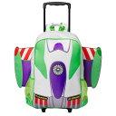 【取寄せ】 ディズニー Disney US公式商品 バズライトイヤー バズ トイストーリー リュックサック バックパック バッグ 鞄 かばん [並行輸入品] Buzz Lightyear Rolling Backpack - Personalized グッズ ストア プレゼント ギフト クリスマス 誕生日 人気