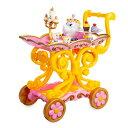 【取寄せ】 ディズニー Disney US公式商品 美女と野獣 ベル プリンセス ビーアワゲスト 野獣 おもちゃ 玩具 トイ 歌う 声が出る英語 セット [並行輸入品] Beauty and the Beast ''Be Our Guest'' Singing Tea Cart Play Set グッズ ストア プレゼント ギフト