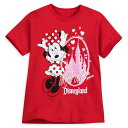 【取寄せ】 ディズニー Disney US公式商品 ミニーマウス ミニー 眠れる森の美女 オーロラ姫 プリンセス お城 キャッスル ディズニーランド Tシャツ トップス 服 シャツ 女の子用 子供用 城 女の子 ガールズ 子供 [並行輸入品] Minnie Mouse Sleeping Beauty Castle T-Shirt f