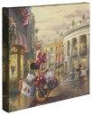 """ショッピングロデオドライブ 【取寄せ】 ディズニー Disney ミニーマウス ミニー 大きさ 35.5cm x 35.5cm 絵画 絵 アート キャンバス インテリア 装飾 デザイン 壁 Thomas Kinkade トーマスキンケード [並行輸入品] Thomas Kinkade Minnie Rocks the Dots on Rodeo Drive - 14"""" x 14"""" Gallery Wra"""