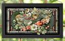 【取寄せ】 風景 景色 自然 ステンドグラス 絵画 絵 アート インテリア 装飾 デザイン 壁 Marjolein Bastin マロリンバスティン マリョレインバスティン 風景画 [並行輸入品] Marjolein Bastin Holiday Abundance Stained Glass Art グッズ ストア プレゼント ギフト ク