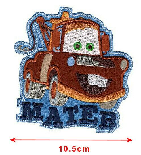【1-2日以内に発送】ディズニー Disney カーズ Cars メーター クラフト 手芸 服 アイロンで取り付けるアップリケ ワッペン 布 アップリケ おもちゃ 玩具 [並行輸入品] Cars, Mater Iron-On Applique クリスマス 誕生日 プレゼント ギフト
