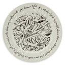 【取寄せ】ディズニー(Disney)US公式商品 ルミエール 美女と野獣 ビーアワゲスト プレート お皿 食器 [並行輸入品] Lumiere Be Our Guest Dinner Plate