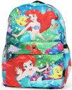 ディズニー Disney アリエル リトルマーメイド フランダー プリンセス リュックサック リュック 旅行 バッグ バックパック 鞄 かばん 女の子 女子 女児 子供 子供用 ガールズ キッズ